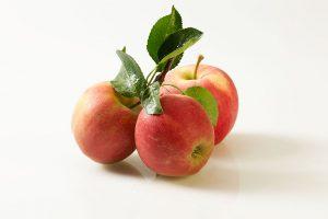 Der Apfel zu Weihnachten