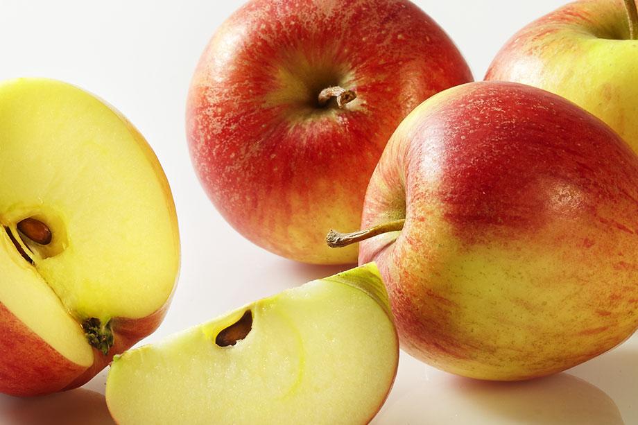 Foto des Apfels der Sorte Pinova